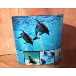 LAMPE A POSER DUO ANIMAUX MARINS