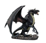 Figurine Dragon Gris